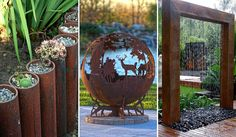 These 20 Incredible DIY Ideas For Outdoor Rusted Metal Projects Will Blow Your Mind