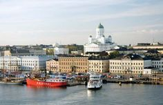 Helsinki, capital of Finland and the country's leading seaport and industrial city.