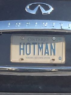 Gorman Vanity License Plates, Ontario, Cool Stuff, Cool Things
