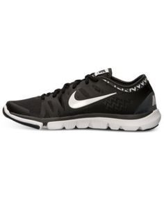Nike Women s Flex Supreme Print Training Sneakers from Finish Line - Black  6.5 Nike Flex bfa5bed8a