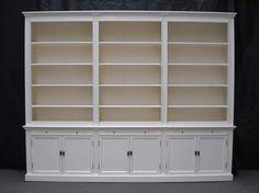 Landelijke grote boekenkast bij inndoors!! - Winkelkraam.nl