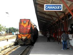 This is the train station in Camaguey.