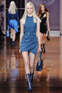 Versace Fall 2014 RTW Collection