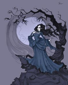Annabel Lee I by IrenHorrors.deviantart.com on @deviantART