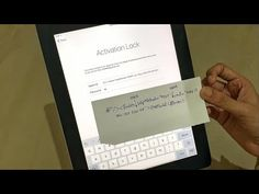 iPad ACTIVATION LOCK REMOVAL WITHOUT PASSWORD | Activation Lock forgot apple id and password - YouTube Iphone Unlock Code, Unlock Iphone Free, Ipad Hacks, Android Codes, Apple Support, Ipad Ios, Iphone Hacks, How To Remove, How To Get