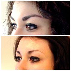 Wenn die Brauen einfach nicht mehr wachsen wollen. . . gibt's zum Glück die Möglichkeit eines Permanent Make up! Augenbrauen Permanent makeup