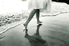 Fun beach wedding photo from Sony Artisan Robert Evans