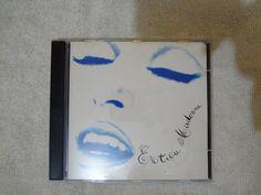 Pitucat Acessórios: Madonna Erotica CD USADO NACIONAL