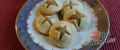 Recept Nebeské cukroví Christmas Sweets, Sweet Desserts, Holiday Cookies, Apple Pie, Sweet Tooth, Oatmeal, Treats, Baking, Vegetables