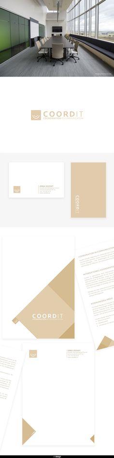 Coordit — Brand identity, logo, print design