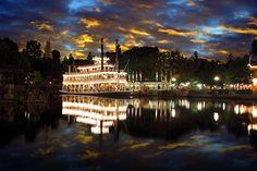 Disneyland Mark Twain