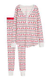 Piżama z bluzą i legginsami