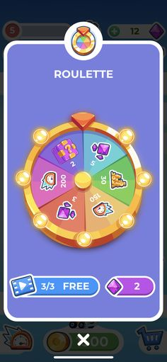 Ocean Illustration, Button Game, Game Interface, Wheel Of Fortune, Game Assets, Game Ui, Spin, Illustrator, Wheels