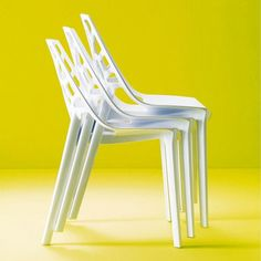 Spider Stacking Chair, Set of 2