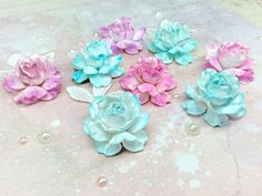 Розы из бумаги своими руками!!! Roses from paper handwork!!!
