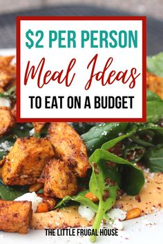 These cheap meal ideas are perfect for one, for two, or for your whole family. Cheap Meals For Two, Cheap Healthy Dinners, Cheap Meal Plans, Cheap Easy Meals, Dinner Recipes Easy Quick, Healthy Meals For Two, Frugal Meals, Easy Healthy Recipes, Quick Easy Meals
