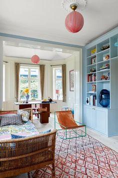 Inside The Quirky Copenhagen Home Of Ganni Founders Ditte & Nicolaj Reffstrup | British Vogue