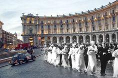 #Matrimonio collettivo nel 1930 http://www.romaierioggi.it/i-matrimoni-collettivi-nel-1930/