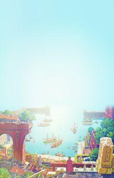 Studio Ghibli Tales from Earthsea phone backgrounds