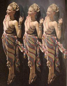 Erwin Blumenfeld 1949 fashion photography