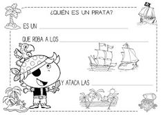 Mi grimorio escolar: ¿QUIÉN ES UN PIRATA? Pirate Party, Teacher, Education, Comics, Books, Fictional Characters, Bingo, School Ideas, Google