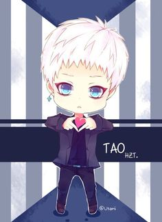"""Saw this and was like """"Gotta pin this!!!! Gotta pin this!!!!"""" sooooo cute, my little tao!!!!"""
