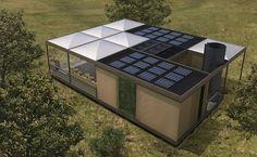 Selbstversorgung: Studenten entwickeln Solarhaus, das auch Wasser und Nahrung produziert