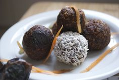 Carrot Cake Donut Holes at Feed Your Skull
