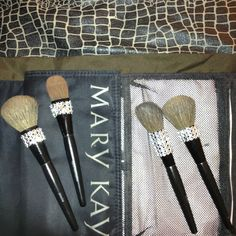 "Mary Kay ""BLING"" Brushes... And YES I will be doing this!"