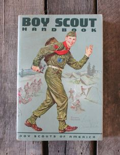 1965 boy scout handbook vintage boys vintage and eagle scout boy scout handbook with normal rockwell cover fandeluxe Image collections