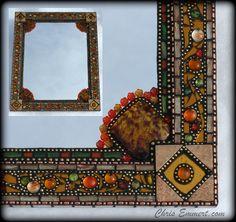 """Gypsy"" Mosaic Mirror by Chris Emmert, via Flickr"