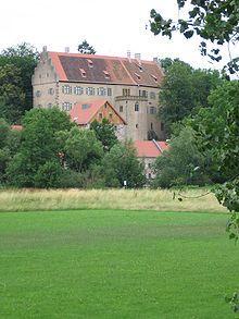 Schloss Aschach, Bavaria, Germany.