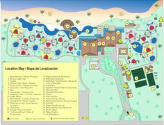 Map Layout Excellence Punta Cana