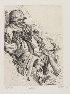 Otto Dix- Dead Sentry. ~Via Lola Studio