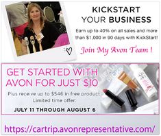 how to become an avon rep uk