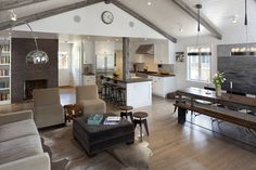 CASA TRES CHIC: A HOUSE IN CALIFORNIA-love the open concept