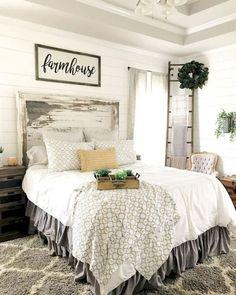 23 beautiful farmhouse bedroom decor ideas
