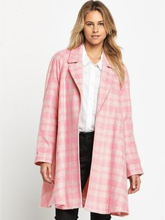 Bank Fashion Pink Soda Faux Fur Parka. | All in the name of beauty