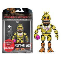 Five Nights at Freddy's Nightmare Chica 5-Inch Action Figure