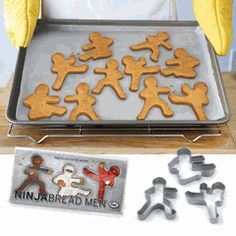NinjaBread Men...this site has fun quirky gifts