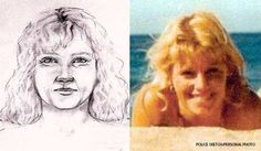 The Shopaholic Serial Killer: Dana Sue Gray with her police sketch. As it turns out, massive shopping sprees tend to make a killer memorable.
