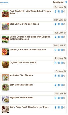 Weekly Meal Plan - Quick Meals To Get Through The Week