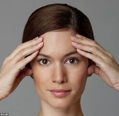 Rejuvenating: Carole Maggio claims that if you do an eight minute facial workout twice a day you'll notice results in less than a week
