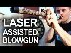 DIY Laser Guided Blowgun | Survival Life | Blog