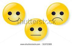 Smileys vector buttons - stock vector