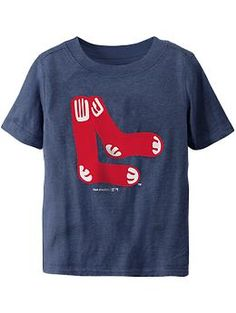 419c6de18dde4d  12.50 - size 2T - Red Sox MLB® Team Logo Tees for Baby