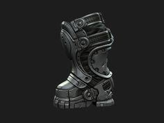 ArtStation - Gears of War 3 - Prescott, Mike Kime