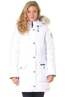 CANADA GOOSE Womens Trillium Parka Jacket white #planetsports