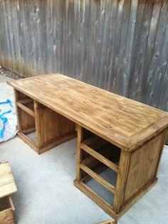 rustic desk jacob dyln build rustic office desk