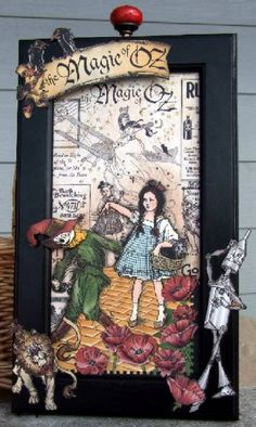 Graphic 45 Card Gallery Show | Wizard of Oz by Memes art - Cards and Paper Crafts at ...